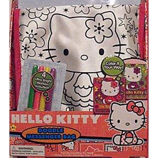 Buy Hello Kitty Doodle Messenger Bag Online - Get 0% Off 703c031a11063