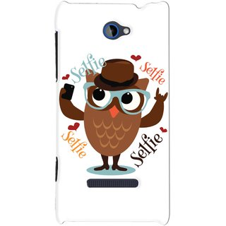 Snooky Digital Print Hard Back Case Cover For Htc 8S 76619