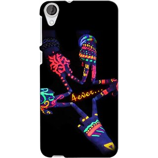 Snooky Digital Print Hard Back Case Cover For Htc Desire 820 77032