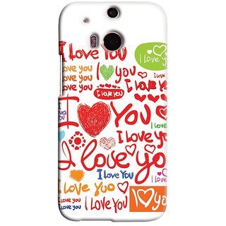 Snooky Digital Print Hard Back Case Cover For Htc One M8 77234