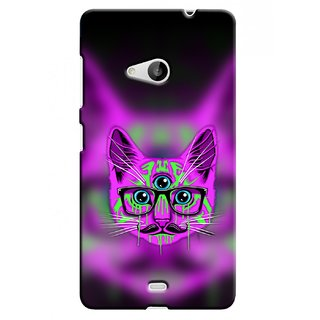 Snooky Digital Print Hard Back Case Cover For Microsoft Lumia 535 77754