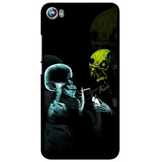 Snooky Digital Print Hard Back Case Cover For Micromax Canvas Fire 4 A107 82127