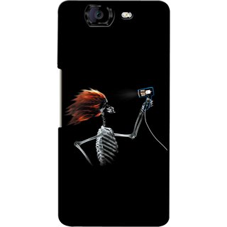 Snooky Digital Print Hard Back Case Cover For Micromax Canvas Knight A350 82274