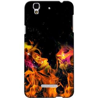 Snooky Digital Print Hard Back Case Cover For Micromax Yu Yureka 83503