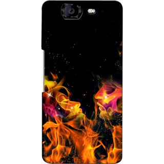 Snooky Digital Print Hard Back Case Cover For Micromax Canvas Knight A350 82234