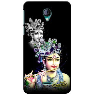 Snooky Digital Print Hard Back Case Cover For Micromax Unite 2 A106 82488