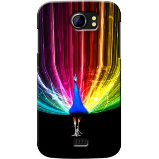 Snooky Digital Print Hard Back Case Cover For Micromax Canvas 2 A110 82737