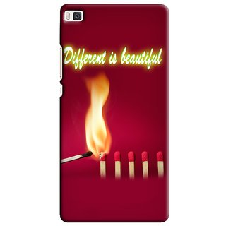Snooky Digital Print Hard Back Case Cover For Huawei Ascend P8 83229