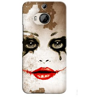 Snooky Digital Print Hard Back Case Cover For Htc One M9 Plus 83740