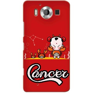 Snooky Digital Print Hard Back Case Cover For Microsoft Lumia 950 85785