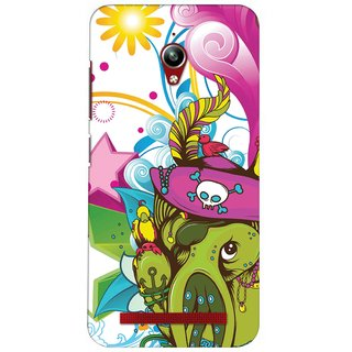 Snooky Digital Print Hard Back Case Cover For Asus Zenfone Go Zc500Tg 86213