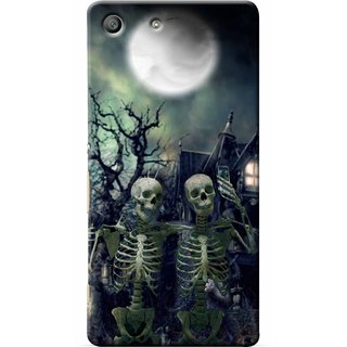 Snooky Digital Print Hard Back Case Cover For Sony Xperia M5 86516