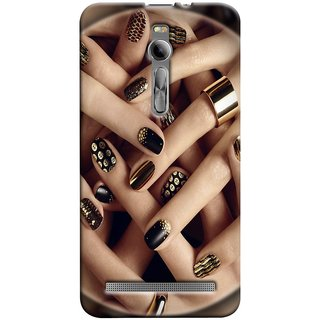 Snooky Digital Print Hard Back Case Cover For Asus Zenfone 2 89900