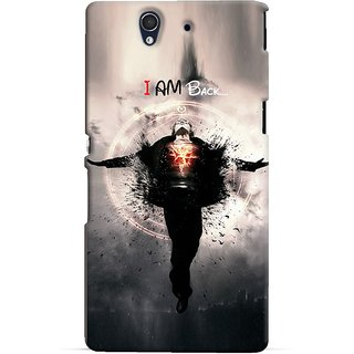 Snooky Digital Print Hard Back Case Cover For Sony Xperia Z 86542
