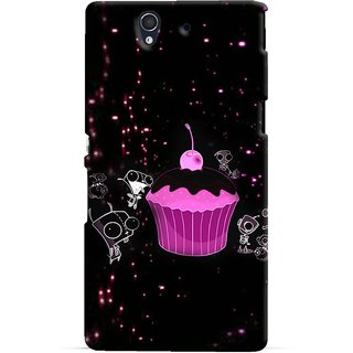 Snooky Digital Print Hard Back Case Cover For Sony Xperia Z 86549