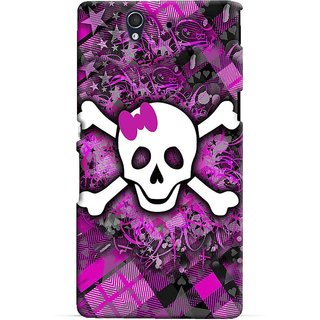 Snooky Digital Print Hard Back Case Cover For Sony Xperia Z 86568