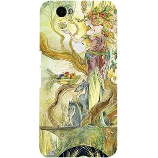 Snooky Digital Print Hard Back Case Cover For Huawei Nexus 6P 86186