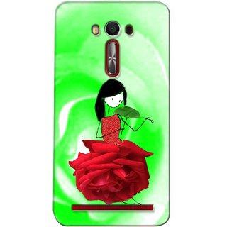 Snooky Digital Print Hard Back Case Cover For Asus Zenfone 2 Laser Ze500Kl 92094