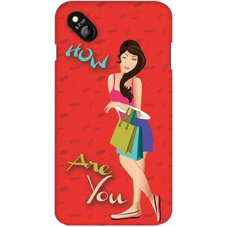 Snooky Digital Print Hard Back Case Cover For Micromax Bolt D303 119360