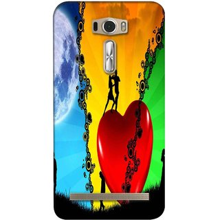 Snooky Digital Print Hard Back Case Cover For Asus Zenfone 2 Laser Ze601Kl 121325