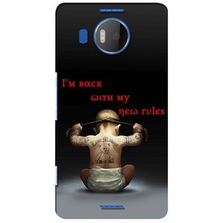 Snooky Digital Print Hard Back Case Cover For Microsoft Lumia 950 Xl 123135