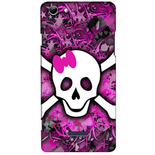 Snooky Digital Print Hard Back Case Cover For Micromax Canvas Selfie 3 Q348 123321