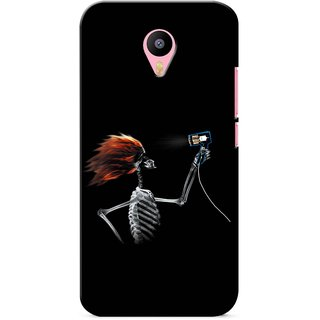 Snooky Digital Print Hard Back Case Cover For Meizu M2 Note 123774