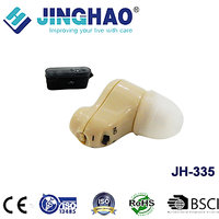 JINGHAO Rechargeable Hearing Aid Mini Sound Amplifier Ear Care For Slight And Moderate Hearing Loss AA Battery