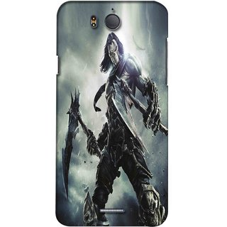 Snooky Digital Print Hard Back Case Cover For Infocus M530 136552