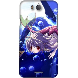 Snooky Digital Print Hard Back Case Cover For Infocus M530 136611