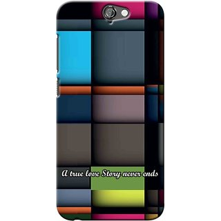Snooky Digital Print Hard Back Case Cover For Htc One A9 137059