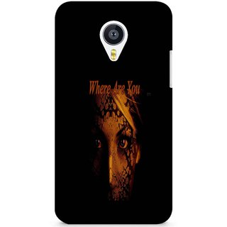 Snooky Digital Print Hard Back Case Cover For Meizu Mx4 137265