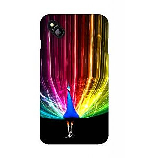 Snooky Digital Print Hard Back Case Cover For Micromax Bolt D303 126052