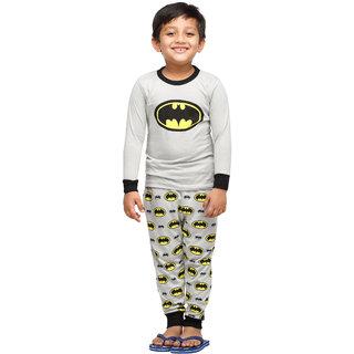 Batman Snow Flakes Grey Boys Nightwear