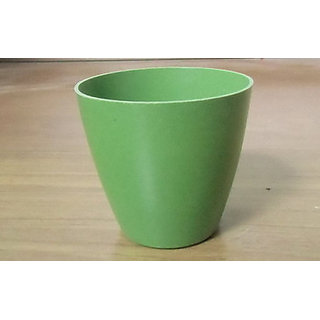 fiver flower pot green color