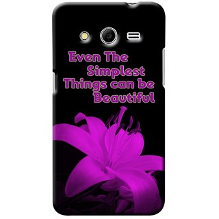 Snooky Digital Print Hard Back Case Cover For Samsung Galaxy Core 2 146894