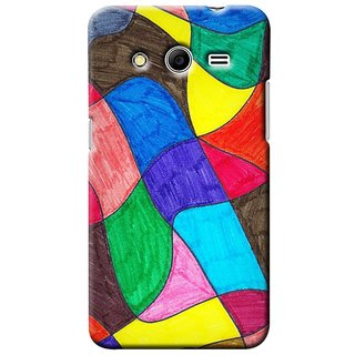 Snooky Digital Print Hard Back Case Cover For Samsung Galaxy Core 2 146916