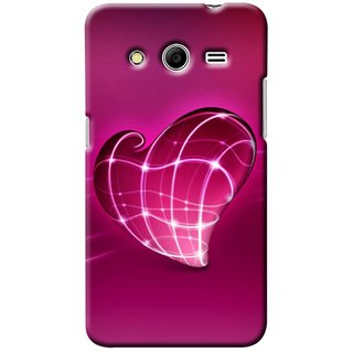 Snooky Digital Print Hard Back Case Cover For Samsung Galaxy Core 2 146928