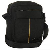Bendly Multi Purpose Passport Sling Bag Pouch V Black