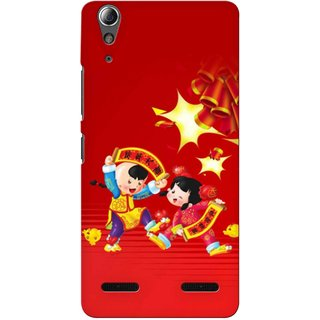 Snooky Digital Print Hard Back Case Cover For Lenovo A6000 Plus  92816