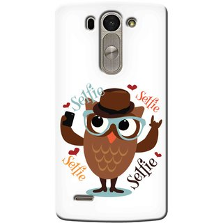 Snooky Digital Print Hard Back Case Cover For Lg G3 Beat 93720