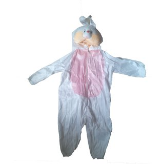 Rabbit Costume Animal Fancy Dress For Kids