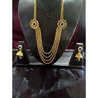 New rajasthani one gram necklace set