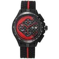 SPEATAK Chronograph Red Black Mens Sports Watch With Date