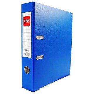 Saya PVC Lever Arch File Max Royal Blue (Pack of 1)