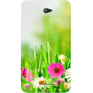 Casotec Spring Floral Pattern Design Hard Back Case Cover For Sony Xperia E4