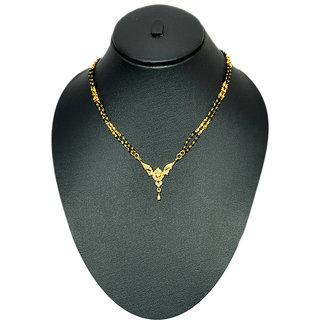 Sanskruti Non Plated Gold Only Mangalsutra For Women