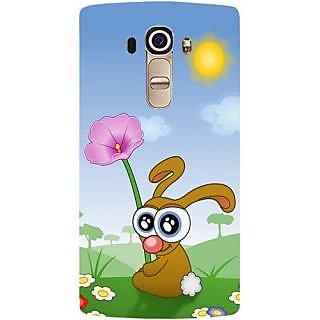 Casotec Bunny In Spring Design Hard Back Case Cover For Lg G4