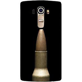 Casotec Bullet Design Hard Back Case Cover For Lg G4