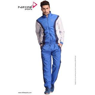 Nitrite Sportswear R. Blue-White Tracksuit For Men